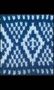 Ирландский узор для вязания на спицах