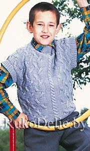 Вязание жилеты 52-54 размера