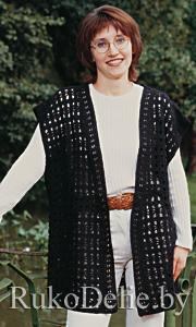 Жилеты вязаные спицами для женщин - Мир вязания - www.Knitting