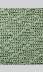 Схемы плотных узоров вязания крючком