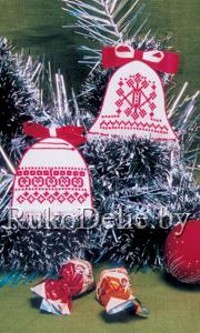Колокольчики с белорусским орнаментом