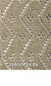 ажурные узоры схемы и образцы узоров вязание на спицах