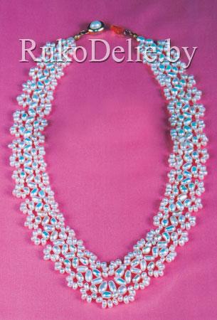 Ожерелье ''Галатея'' из жемчуга разной формы