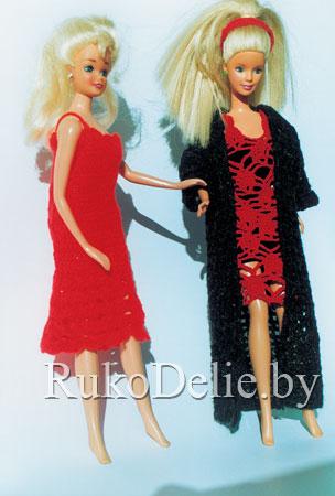 Рукоделие вязание для куклы барби