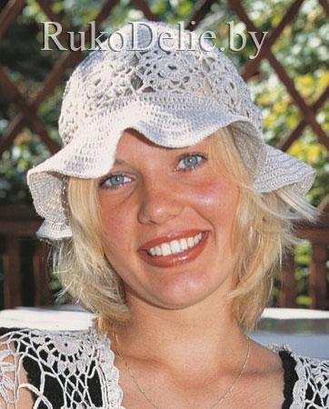 Понятно, что этого будет очень хотеться, терпи.  Описание: Вязаные летние шляпки Коллекция.  Автор: Нора.