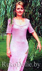 Вязаные платья на нева 5
