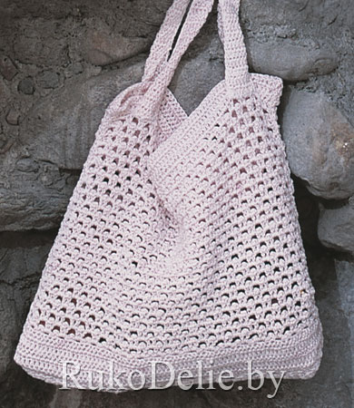 вязание сумки крючком схеми