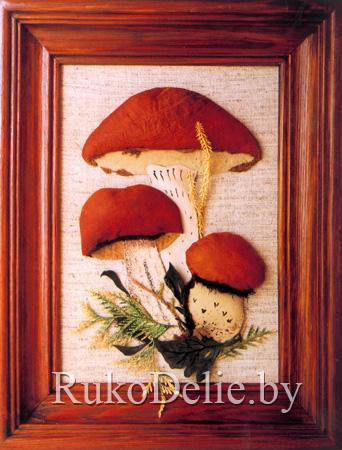 Из этого мастер-класса Вы можете узнать как сделать грибочки из кожи в...