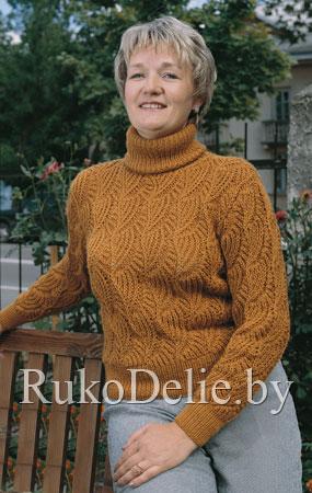 свитера женские вязание