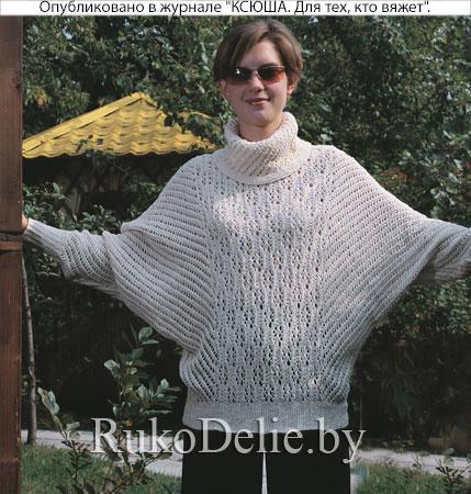 свитер с рукавом летучая мышь свитеры женская одежда