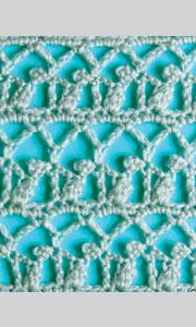 образцы ажурного вязания крючком